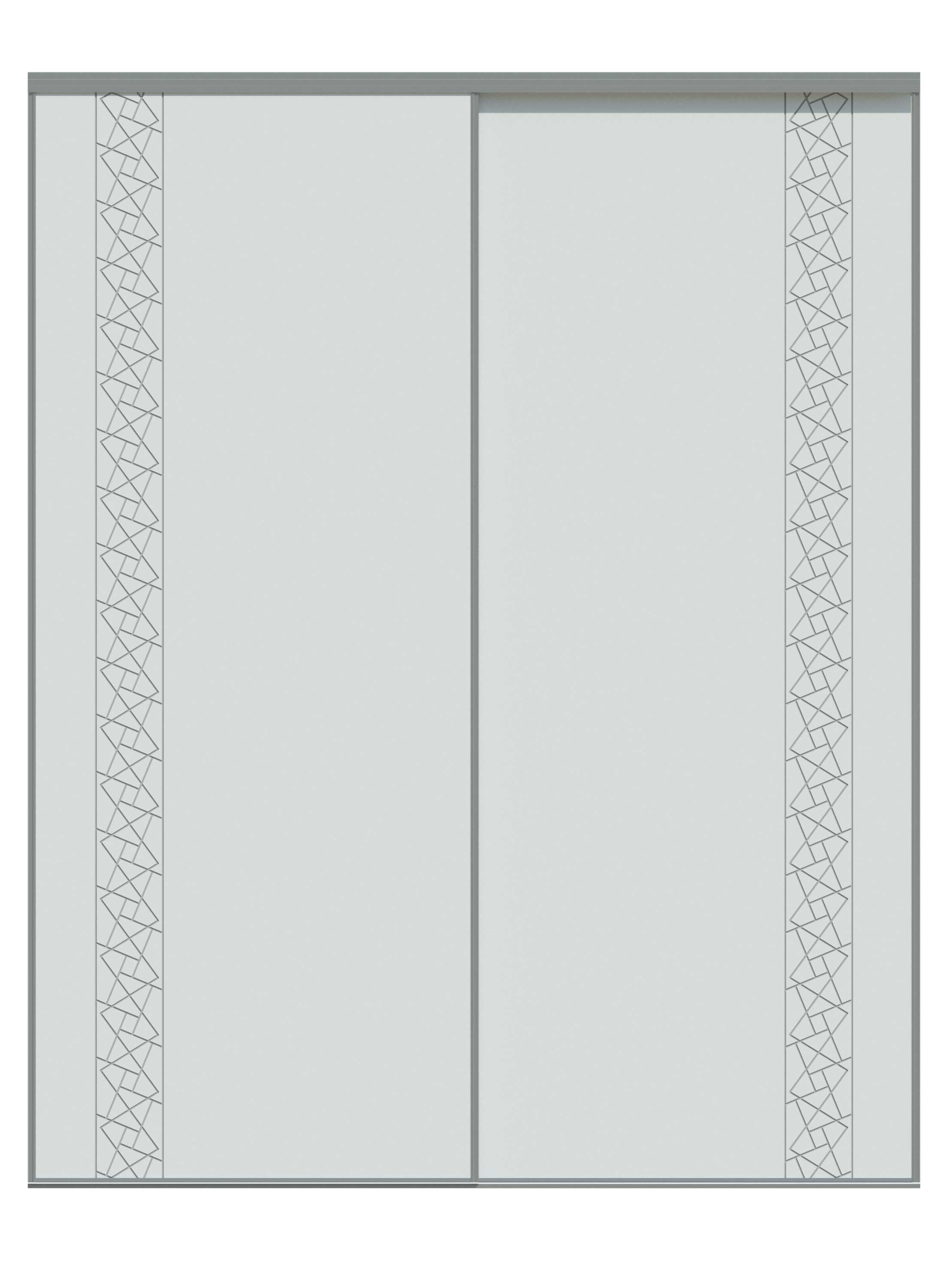 Placard-3D-STYLE-NARCISSE-A-A2-PURE-2500-x-2000-(Blanc)